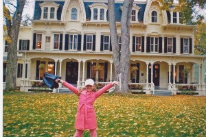 New York in the fall…breathtaking.  Victorian Home with architectural details to die for.  My inspiration to build and decorate a doll house for my niece.